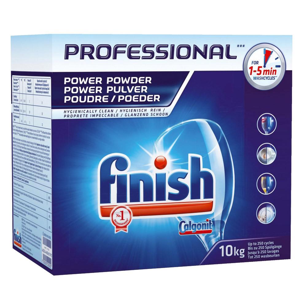 Poudre lavage vaisselle - FINISH PRO - 10Kg