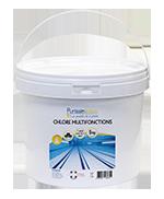 Pastilles Chlore Multi-fonctions HYDRAPRO - Seau de 5kg