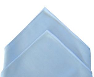 Microfibre ''Top-Vitres'' 40 x 40 cm bleu BIFACES - DE WITTE