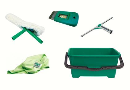 Kits, pack, Ensemble Nettoyage de vitres Maison 35CM - Unger