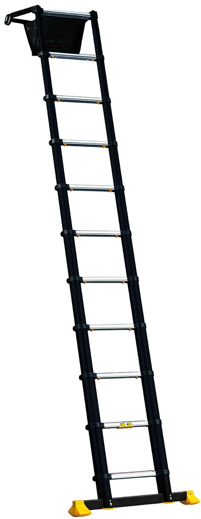 Echelle télescopique Space Bamboo - CENTAURE - 13 barreaux