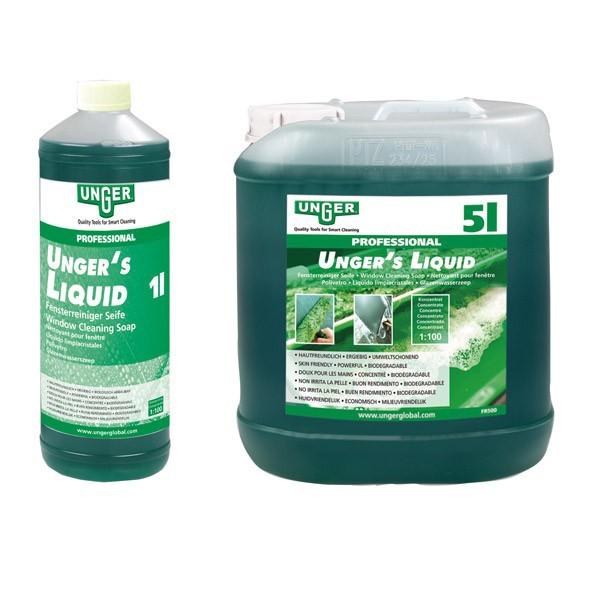 Savon à vitres liquide UNGER'S - 5L