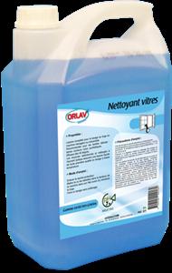 Nettoyant Vitres et surfaces - ORLAV - 5L