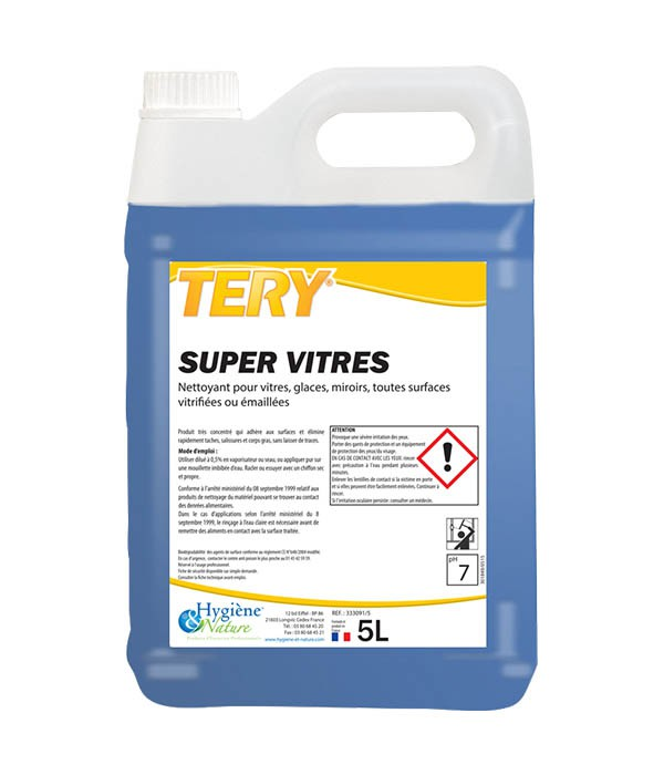TERY - Nettoyant Super vitres 5L - HYGIENE & NATURE