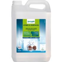 Nettoyant Vitres et surfaces ENZYPIN - LE VRAI Professionnel - 5L - Ecolabel