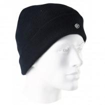 Bonnet tricoté acrylique - SINGER - Noir