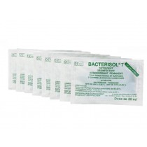 Détergent désinfectant BACTERISOL 7 - PROVEN - 250x20ml