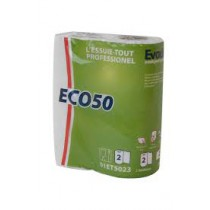 Essuie-tout blanc 50f  type Sopalin - 32 unités