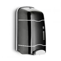 Distributeur savon STEINER LLR NOIR à remplissage - Pompe permanente