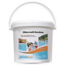 Chlore multi-fonctions HYDRAPRO - Seau de 5kg