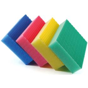 Sachet 4 x COLOR CLEAN HACCP 1 jaune/1 rouge/1 bleu/1 vert - DE WITTE