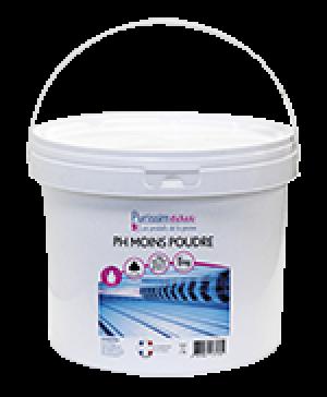 Poudre pH moins HYDRAPRO - Seau de 5kg