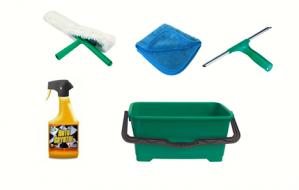 Kits, pack, Ensemble Nettoyage de vitres Voiture 35CM - Unger