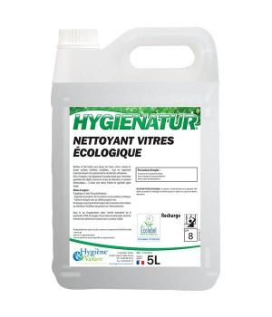 Nettoyant Vitres écologique - HYGIENATUR - 5L - Ecolabel